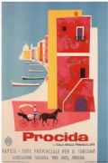 Vintage Travel Procida, Naples